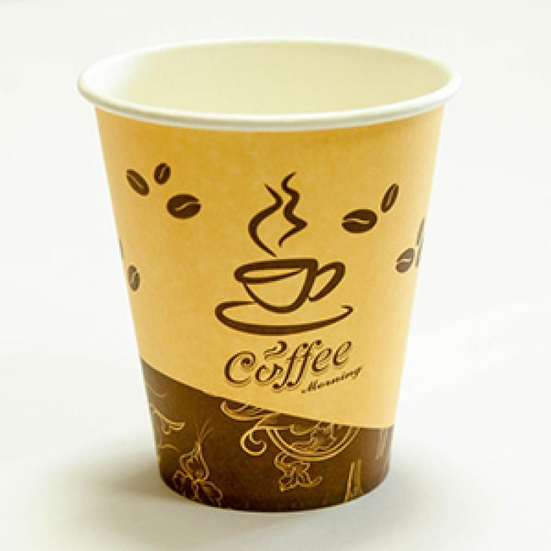 Бумажные стаканы для кофе и других горячих напитков по